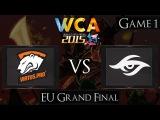 Dota 2 Virtus.Pro vs Team Secret | WCA 2015