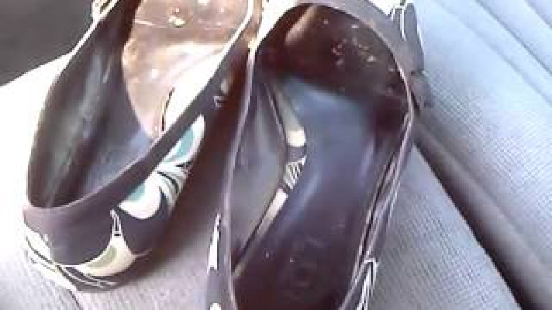 Candid Flats Shoeplay With Give Away