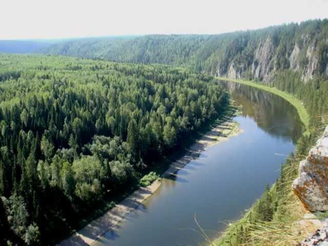Красоты реки Чусовая.