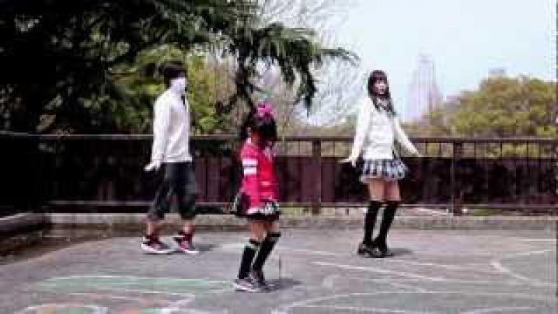 【なあ坊豆腐×りりり×マロン】スイートマジック踊ってみた【兄姉妹1
