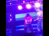 150220 #TohoWithTour in Nagoya - STL Yunho touches Changmin's wet sexy body [清新_02181208]