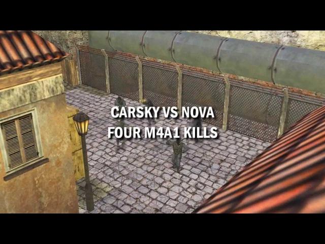 LexTV - CARSKY VS NOVA @ M4A1 FRAGS
