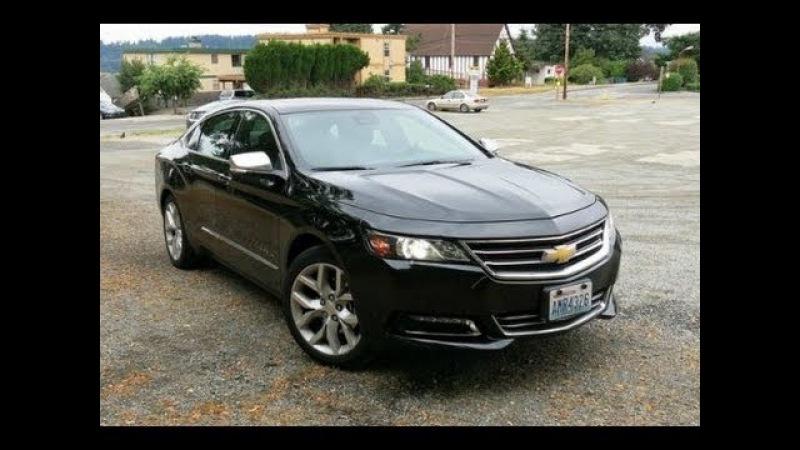 Chevrolet Impala 2014 на русском