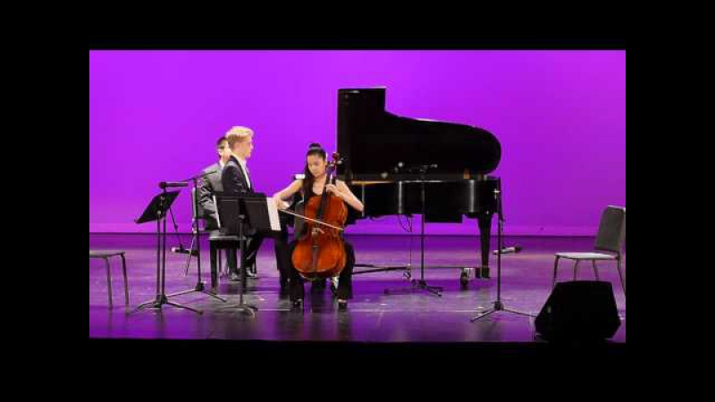 Arutiunian Impromptu For Cello and Piano Nana Ou yang 歐陽娜娜