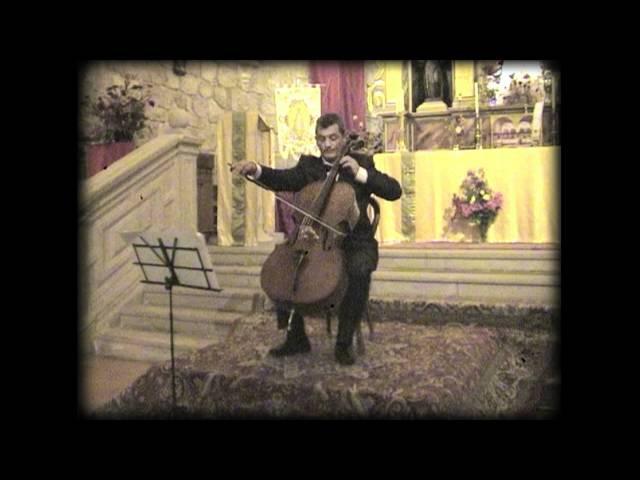 11 Aria de A. Babadjanyan. A. Antonian (cello) y J.A. Álvarez Parejo (piano)