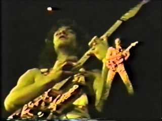 Eruption - Van Halen - Rare 1982 Footage