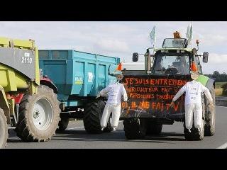 Французские фермеры добились поблажек от правительства