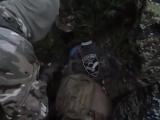 ДРГ отряда Беса. Взятие в плен укрофашиста из батальона Айдар 20.07.2015