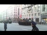 4 мая. Показ военной техники. ул. 1ая Тверская-Ямская