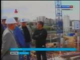 Бетонный завод MEKAMIX-100 на строительстве футбольного стадиона «Мордовия-Арена»