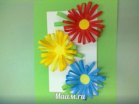 Весеннее настроение — открытка Татьяны Руденко из Сыктывкара. Дошкольники с работой справились!… (1 фото) - картинка