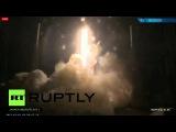 Ракета Falcon 9 успешно вывела в космос два коммерческих спутника. 02.03.2015.