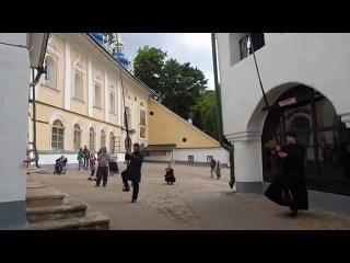 Колокольный звон в  Псково-Печерском Монастыре