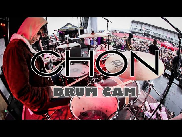 CHON | Book | Drum Cam (LIVE)