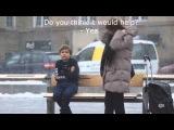 Социальный Эксперимент - Замерзший мальчик