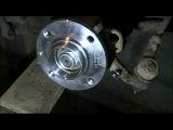 Замена ступицы и подшипника ступицы VW Passat B3