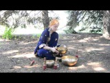 2015-09-05_6  Анастасия Пересвет - Концерт поющих чаш Донецк Город мастеров Ботсад