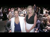 Good time folks, Kate Upton, Amy Schumer and Jessica Alba attending the Narciso Rodriguez Show
