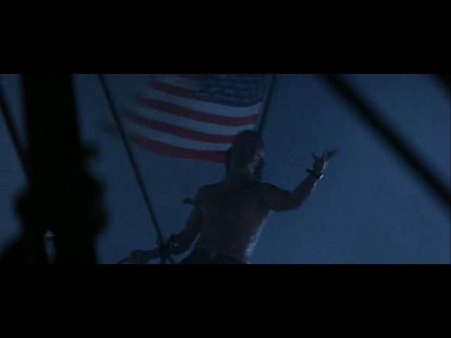 Лейтенант Дэн против Бога. Отрывок из фильма Форест Гамп.