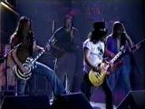 Slash and Zakk Wylde guitar duelduet