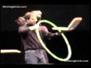 Steve Jobs introduces WiFi to the masses with a hula hoop