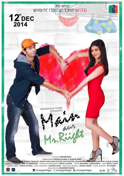 Main Aur Mr. Riight (2014) Movie Poster No. 1