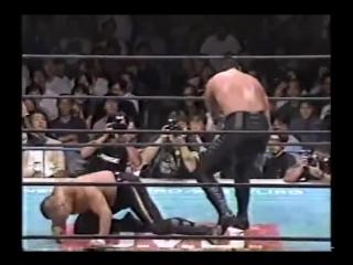 NJPW 13.09.1997 - Kazuo Yamazaki/Kensuke Sasaki vs. Masahiro Chono/nWo Sting G1 Climax Special Tag Team Tournament
