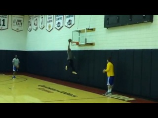 Alvin Gentry Throws Down a Dunk at Warriors Practice | June 15, 2015 | 2015 NBA Finals