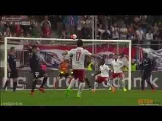 Andreas Ulmer Amazing Goal Red Bull Salzburg vs Malmö FF 2 0 UCL 29 07 2015 HD
