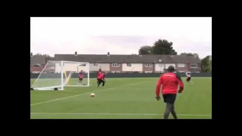 Golazo! Martin Skrtel scores an absolute screamer in Liverpool training