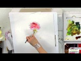 Watercolor Techniques with Janet Rogers - Painting Roses