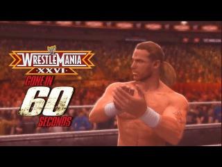 WWE WrestleMania XXVI in 60 Seconds [ Road to WM 31 ]