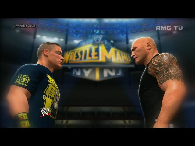 WWE 2K14 - The Rock vs John Cena | WrestleMania 29 Promo
