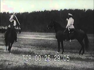 Донские казаки в Москве. (1908)