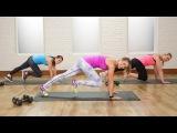 Anna Renderer - Burn 300 Calories With This Workout (Popsugar) | Интервальная аэробно-силовая тренировка