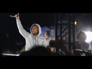Reebok x Kendrick Lamar | LA Mobile Concert | #GetPumped [Rhymes & Punches]