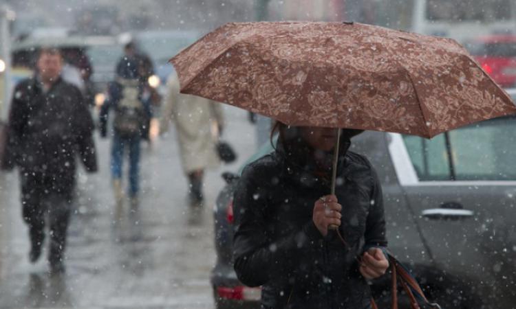 В Ростовской области ожидается похолодание до –9 °С и мокрый снег!