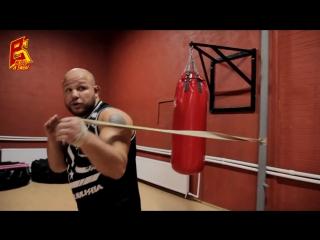 Упражнение на скорость ударов руками. Boxing. Hand speed rate.