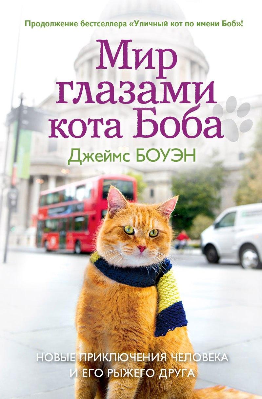 Книга «Уличный кот по имени Боб» закончилась на том, что Джеймс, бывший наркоман, и его верный друг, рыжий кот по имени Боб, преисполненный чувства собственного достоинства и обладающий бездной обаяния, торгуют журналом «Big Issue» у одной из станций лондонского метро.