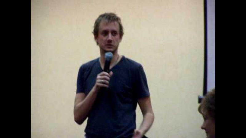 Chad Lindberg at EyeCon Supernatual Con Cruise Presentation