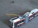 Trolleybus model / Model trolejbusu Škoda 22Tr 2010