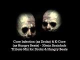 Core Infection &amp K Core - 30min Brainfuck Tribute Mix for Drokz &amp Hungry Beats