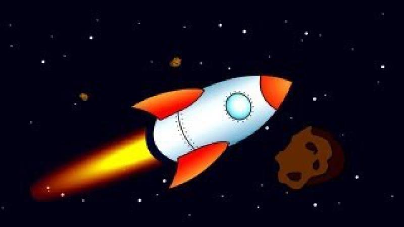 Обучающие мультфильмы для детей про космос. Учимся читать по слогам. Склад ПА. Обучение чтению