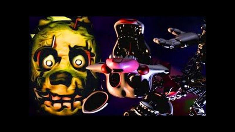 FNAF 3 Secret MANGLE Animatronic Endoskeleton! Five Nights at Freddys 3 Easter Egg Jumpscare!