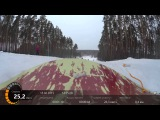Тест экшен камеры Sony HDR-AS100V на сноуборде (Test action camera HDR-AS100V on snowboard)