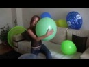 Balloons inflates pops; by Ann, Alissa