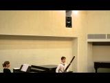 концерт фаготистов в Литовской академии музыки и театра LMTA bassoon