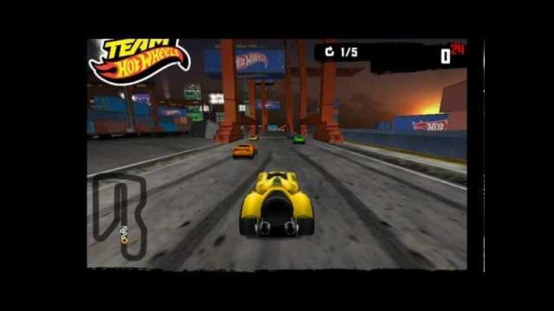 Hot Wheels. Nightracer - Гонки в порту