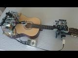 Робот играет на гитаре (6 sec)