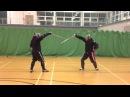 AHF Military Sabre fencing Mike vs Nick.mov